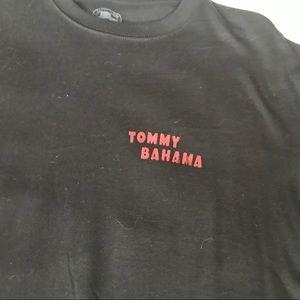 TOMMY BAHAMA Black T-Shirt